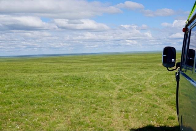 Auto in der Gobi