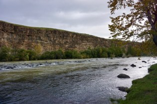 Orkhon-Fluss in der Mongolei