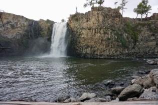 Wasserfall in Zentralmongolei