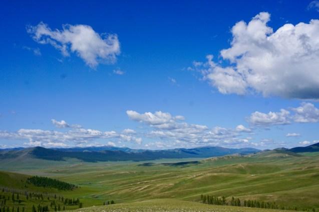 Weitblick in der Mongolei