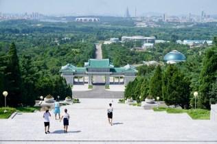 Pjöngjang im August