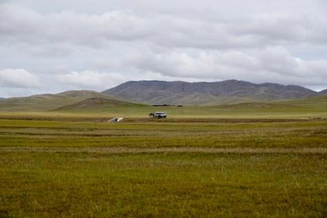 Autopause in der Mongolei
