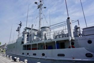 US Spionageschiff USS Pueblo in Pjöngjang