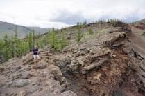 Vulkan Khorgo Ull in Zentralmongolia