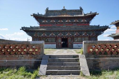 Tempel in Zentralmongolei