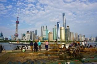 Baustelle in Shanghai