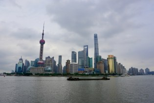 Pudong in Shanghai