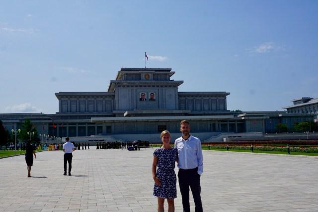 Mausoleum in Nordkorea