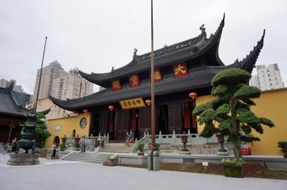 Jade Buddha Tempel im September