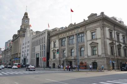 The Bund in Shanghai
