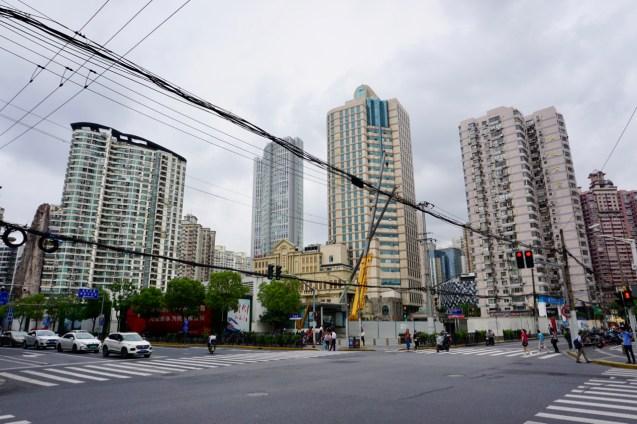 Wohnviertel in China