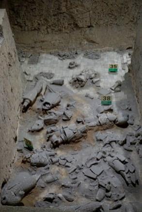 Ausgrabungsarbeiten in China