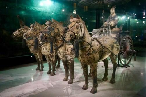 Historische Kutsche mit Pferden