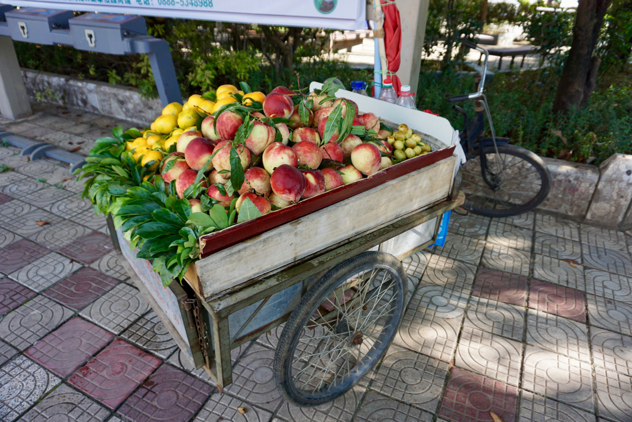 Obst aus Yunnan