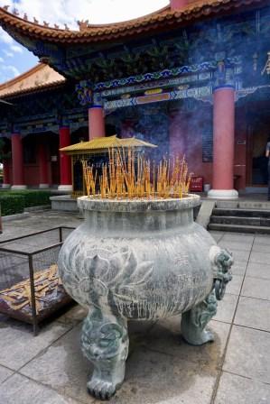 Buddhistische Räucherstäbchen