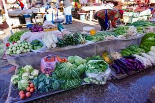 Wochenmarkt in China