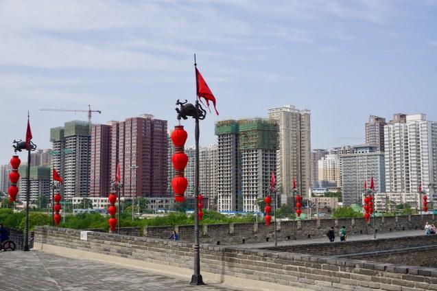 Wohnblöcke in Shaanxi