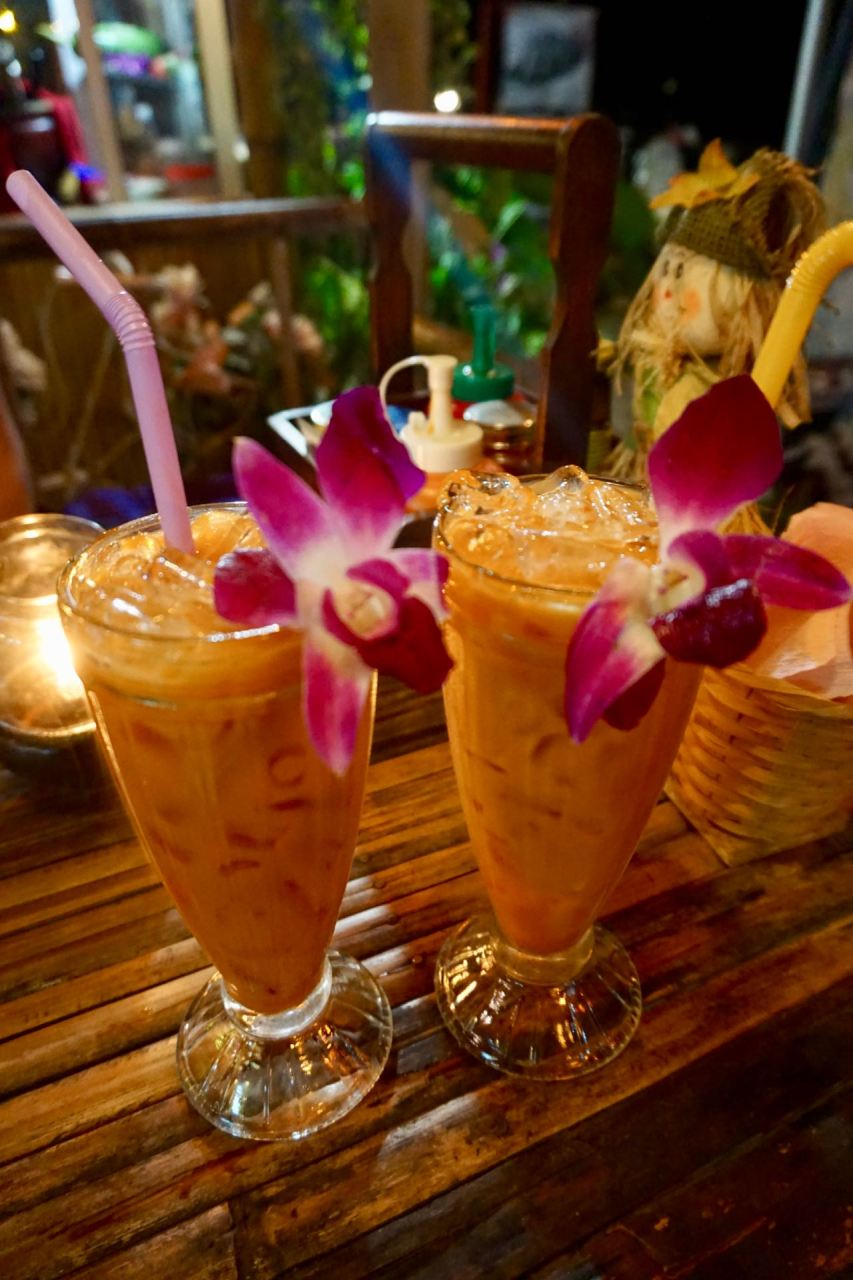 Mango-Shake auf Eis
