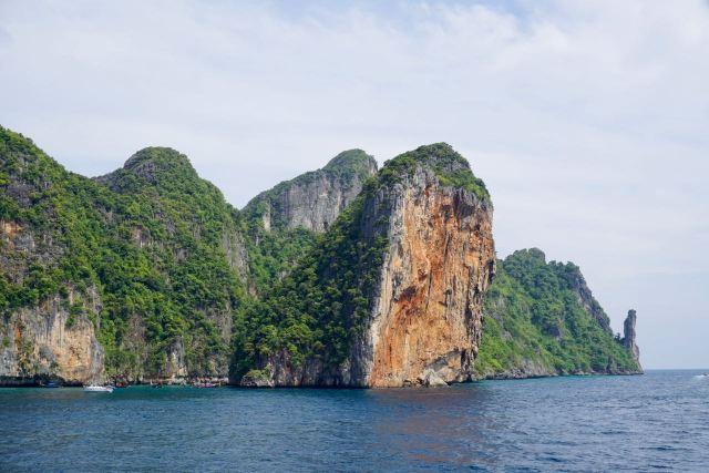 Blick auf Koh Phi Phi