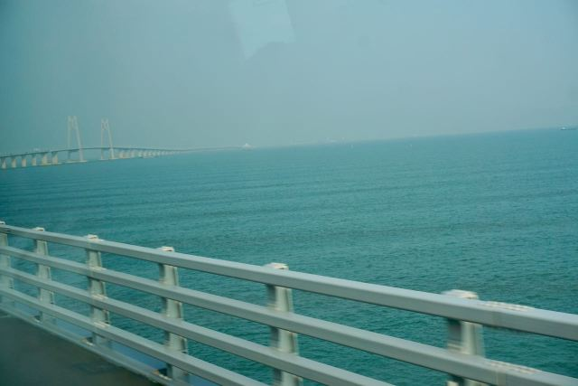 Seebrücke in Macau