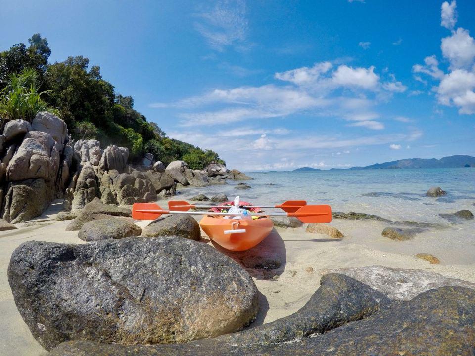 Kayak-Tour auf Koh Lipe