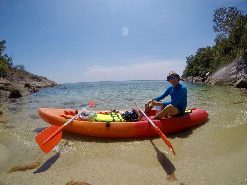 Kayak fahren Thailand