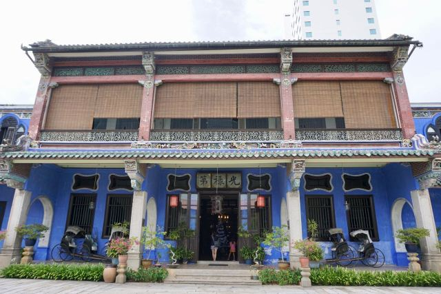Chinesisches Haus in Malaysia