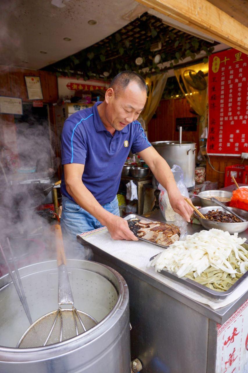 Garküche in Fenghuang