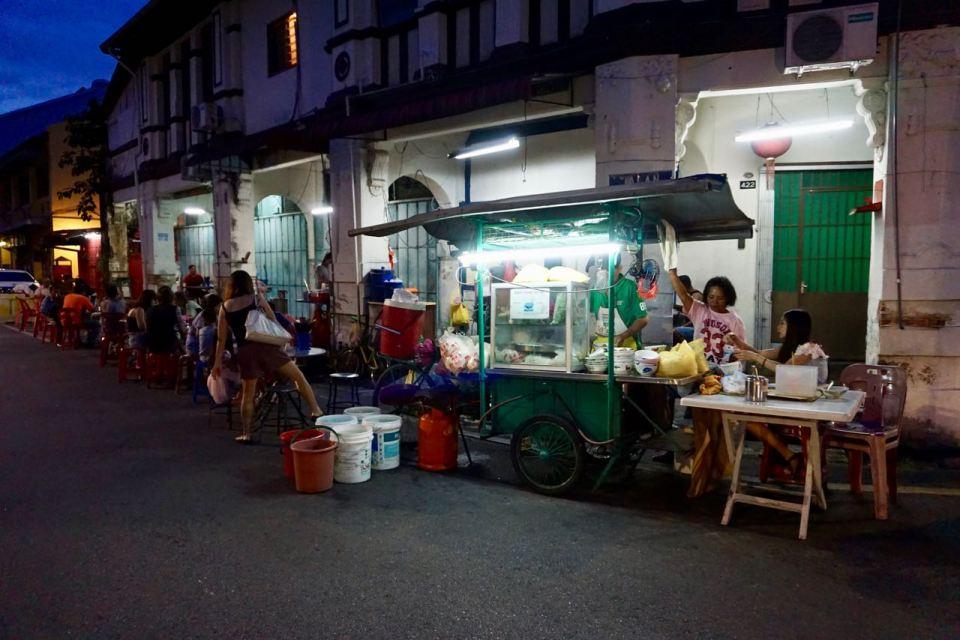 Straßenküche in Malaysia