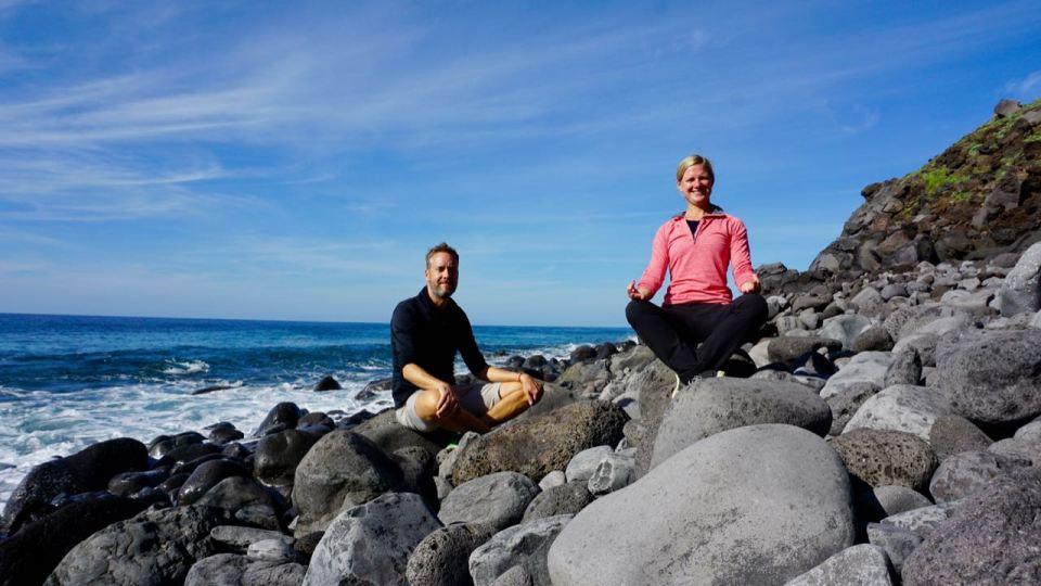 Ozean an Madeiras Westküste