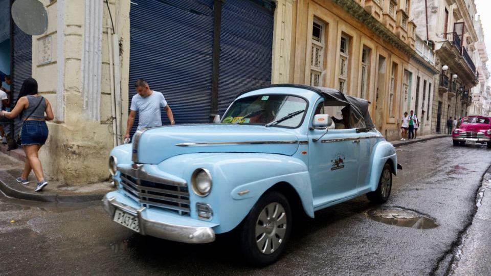 Oldtimer als Taxi