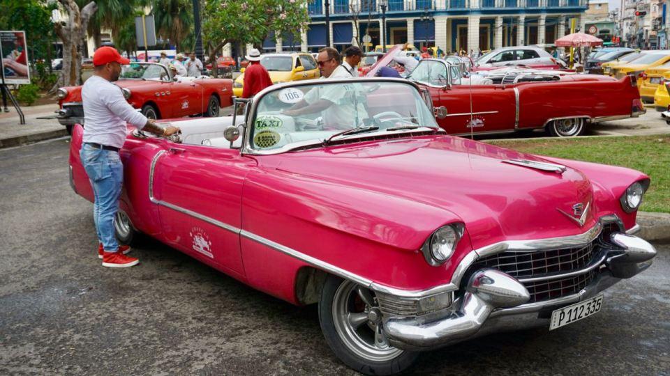Taxifahrer in Kuba