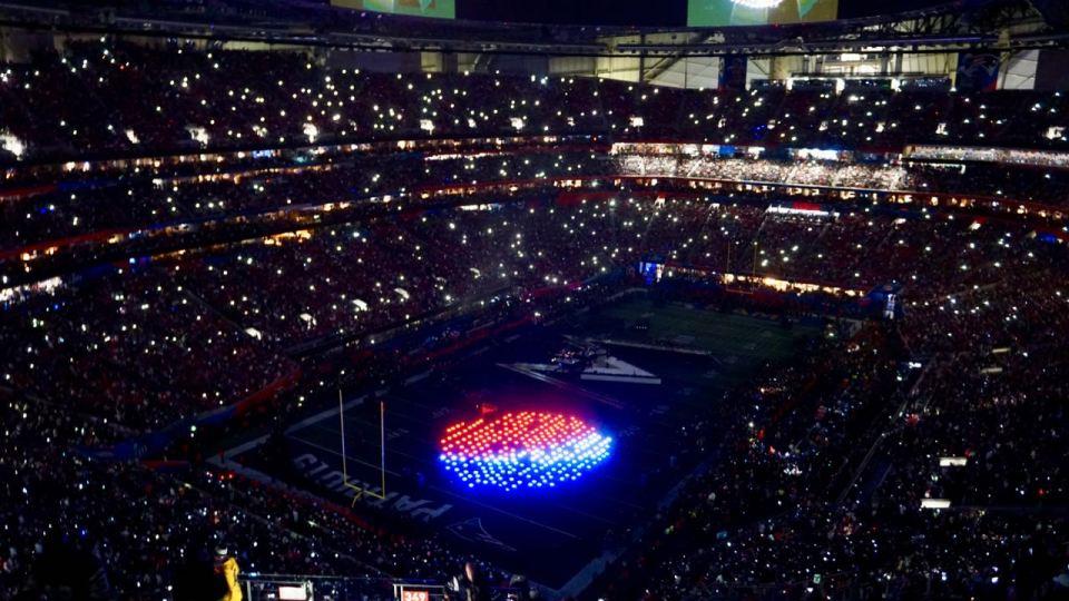 Pepsi-Logo im Stadion