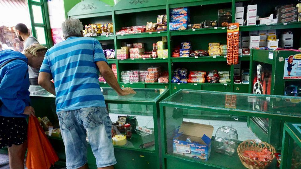 Verkauf in Havanna