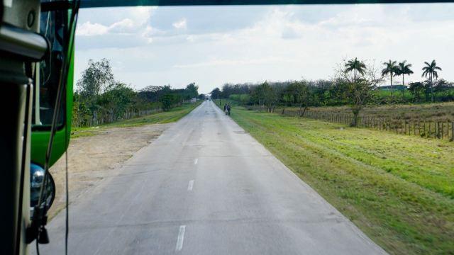 Landstraße aus Kuba