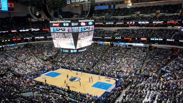 NBA-Spiel in Dallas