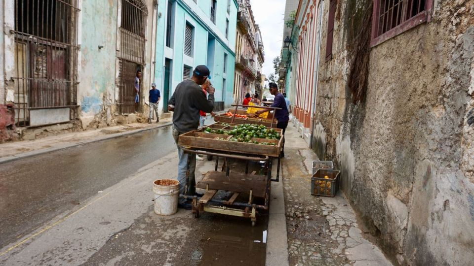 Gemüseverkauf auf Rädern