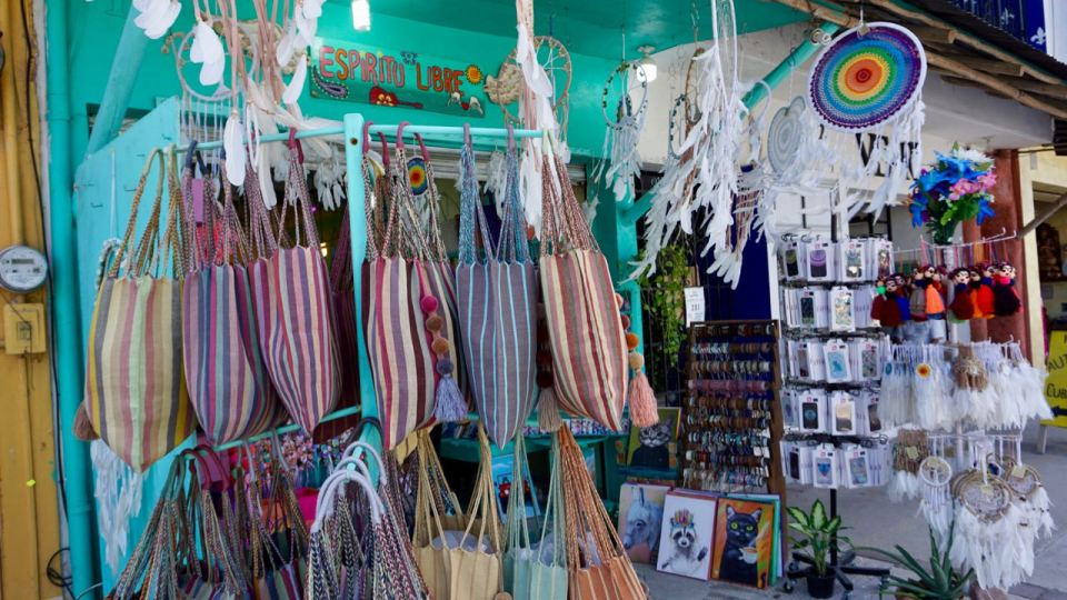 Souvenir-Angebot in Yucatan