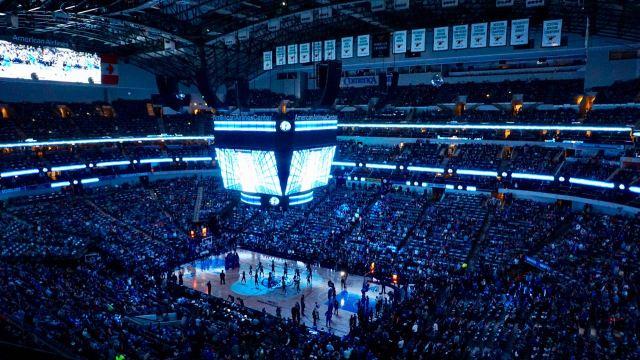 Basketball-Stadion USA