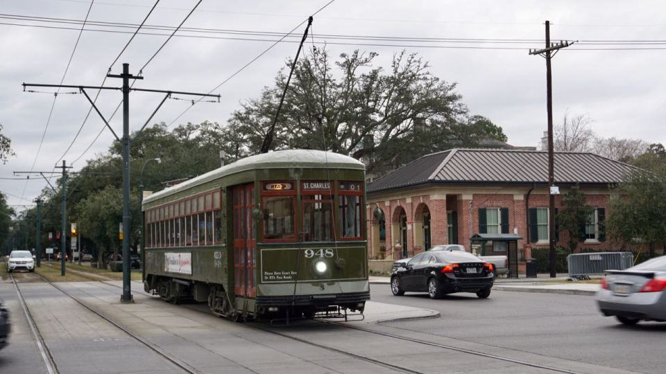 Straßenbahn-Waggon Louisiana
