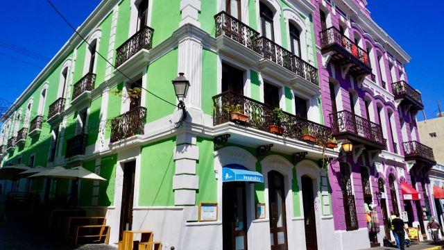Kolonialhäuser in San Juan