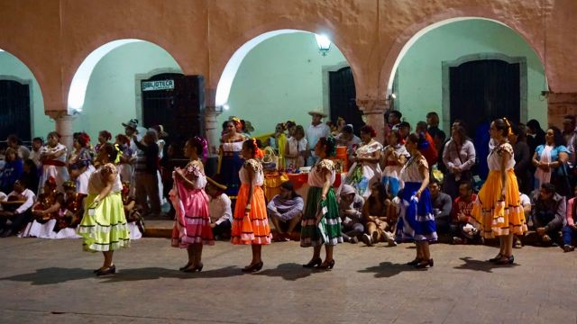Tanzen in Yucatan