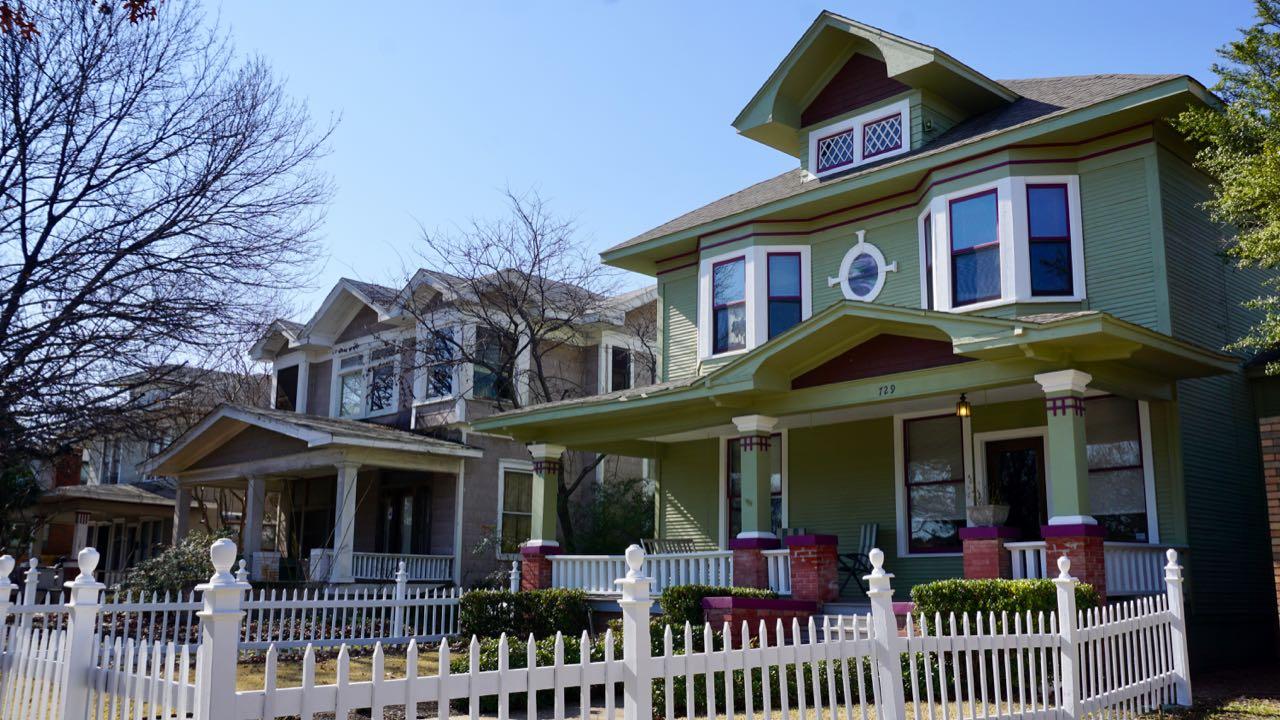 Wohnhaus in Texas USA