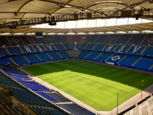 Volksparkstadion des HSV