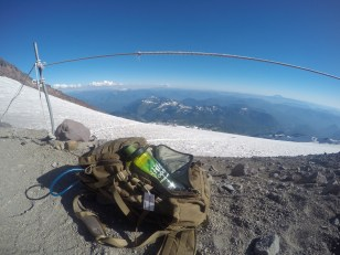 My Fitlife Foods Nalgene made the climb!