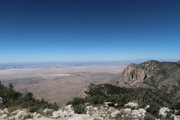 The view from the highest peak in Texas!