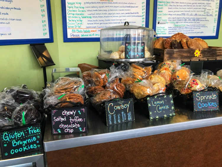 SWEETS AND TASTY TREATS AT SWEET CRAVINGS BAKERY AND BISTRO