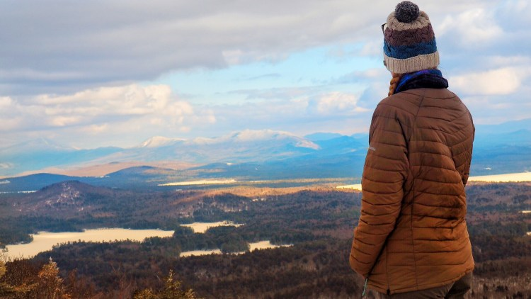View from Summit of Saranac 6er St. Regis