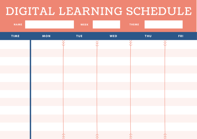 The Perfect Distance Learning Schedule