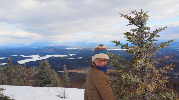 St. Regis Mountain in Winter